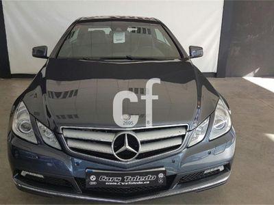 usado Mercedes E350 Clase E CoupeCdi Blue Efficiency Elegance 2p. -11