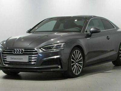usado Audi A5 Coupe S line 2.0 TDI 110 kW (150 CV) S tronic Diésel Gris matriculado el 05/2017