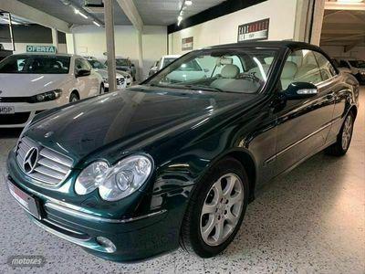 usado Mercedes CLK240 Clase CLKELEGANCE