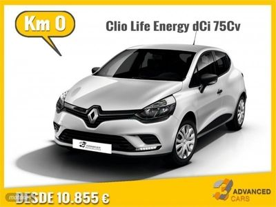 brugt Renault Clio Life Energy dCi 55kW 75CV