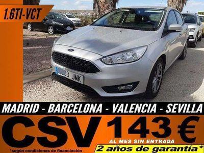 usado Ford Focus 1.6 TI-VCT Trend+ (flotas)