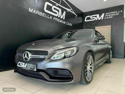 usado Mercedes C63S AMG Clase C C Cabrio AMG