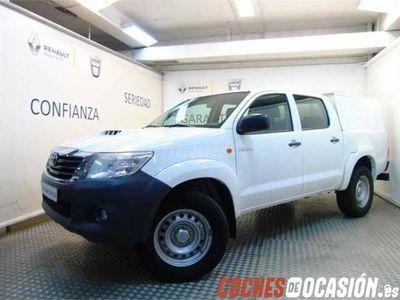 usado Toyota HiLux 2.4 D4D Cabina Doble GX 4x4 4p