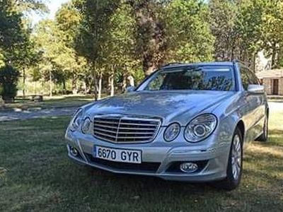 usado Mercedes E220 ClaseBE Elegance