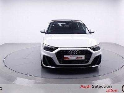 usado Audi A1 Sportback S line 30 TFSI 85 kW (116 CV) S tronic Gasolina Blanco matriculado el 07/2019