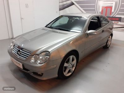usado Mercedes C160 Clase CK SPORTCOUPE