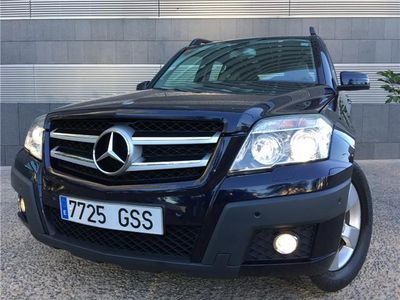 usado Mercedes GLK350 CDI 4M + NACIONAL + LIBRO + MUY EQUIPADO