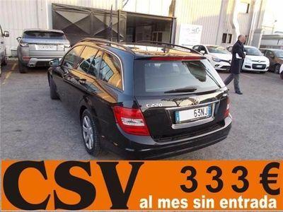 usado Mercedes C220 SW CDI ESTATE 170CV **BI-XENON, 333€/M**