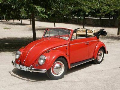 usado VW Beetle Karmann Cabriolet 1963