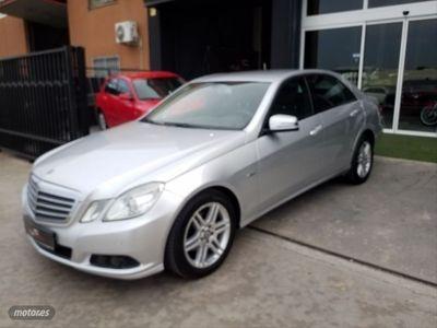 usado Mercedes E200 Clase ECDI Blue Efficiency Elegance