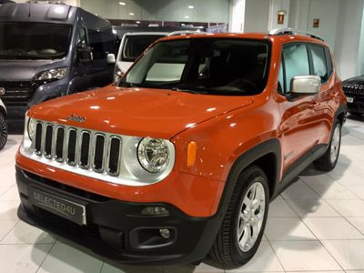 brugt Jeep Renegade 1.6Mjt Limited 4x2 88kW