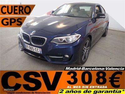gebraucht BMW 218 218 d Coupe 110kW (150CV)