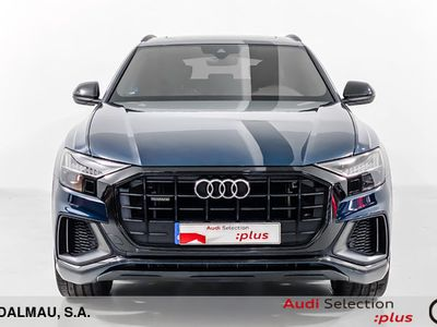 usado Audi Q8 50 TDI quattro 210 kW (286 CV) tiptronic Diésel Azul matriculado el 10/2018