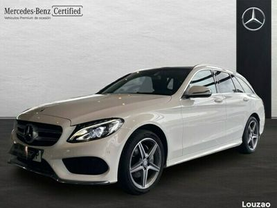 usado Mercedes C220 BlueTEC / d Estate Estate AMG Line