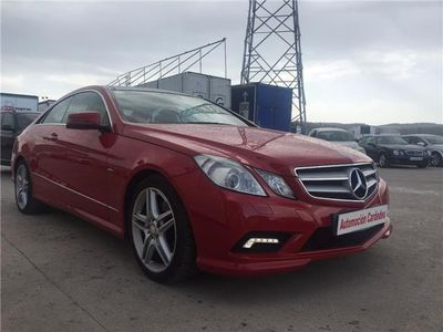 usado Mercedes E350 Coupé 350CDI BE 7G Plus