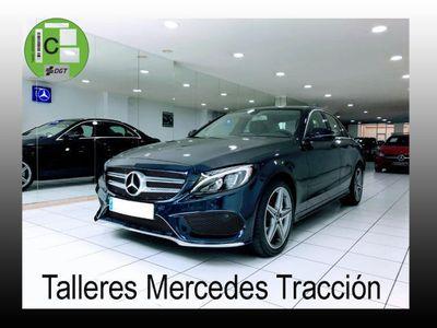 """usado Mercedes C220 d AMG Line 9G/Navegación/Parktronic/Llanta 18"""""""