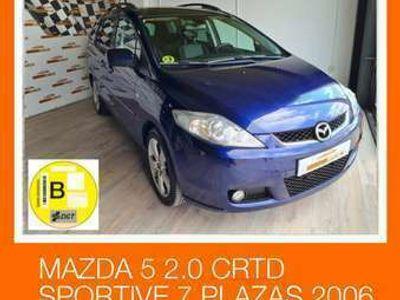 usado Mazda 5 2.0CRTD Sportive 143