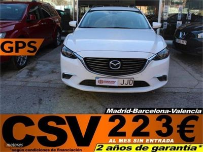 gebraucht Mazda 6 2.2DE 150CV AT STYLE WAGON **GPS, 202€/MES**
