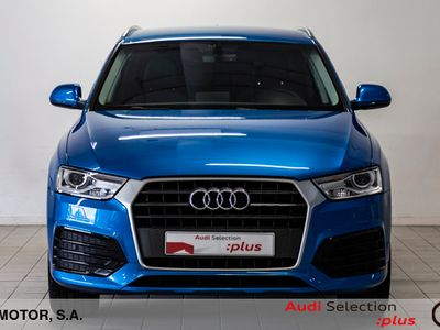 usado Audi Q3 sport edition 2.0 TDI 110 kW (150 CV) S tronic Diésel Azul matriculado el 08/2017
