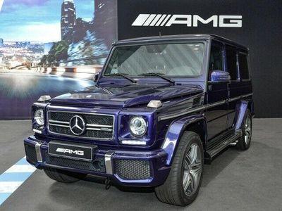 usado Mercedes G63 AMG AMG Exklusiv Drivers Techo Distronic bola