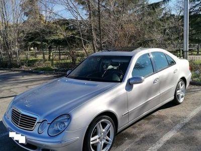 usado Mercedes E270 Clase ECDI AVANTGARDE