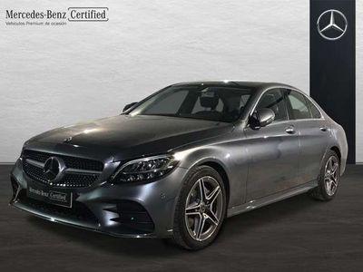 usado Mercedes C220 d AMG Line (EURO 6d-TEMP)