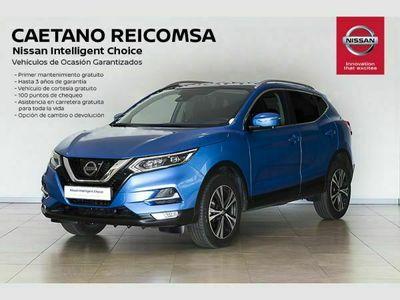usado Nissan Qashqai dCi 85 kW (115 CV) E6D N-CONNECTA + TECHO + BARRAS + FAROS LED + RUEDA DE REPUES