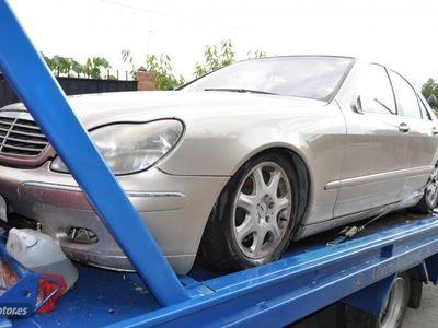 usado Mercedes S400 ClaseCDI PIEL XENON NAVI TV KLIMATIZADOR FULL