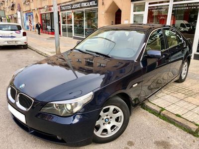 usado BMW 525 Serie 5 E60 GRAN OCASION NACIONAL LIBRO IMECABLE