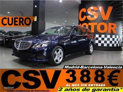 brugt Mercedes E220 Clase ECDI Elegance Estate