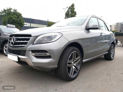 "usado Mercedes ML350 BlueTec 4M 7G Plus ""IVA DEDUCIBLE"""