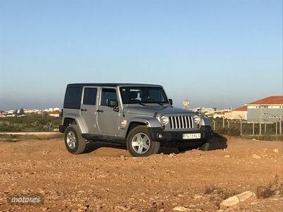 usado Jeep Wrangler 2.8 CRD Sahara Aut. 147 kW (200 CV)