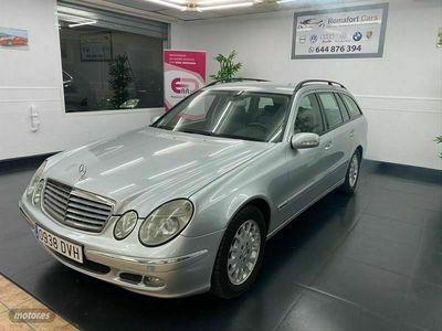 usado Mercedes E320 Clase ECDI Elegance Auto Familiar