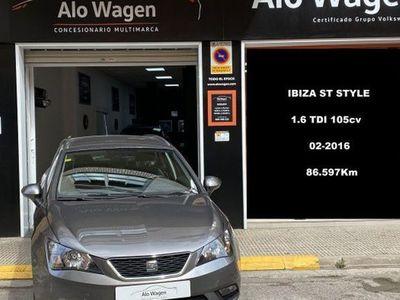 usado Seat Ibiza ST 1.4TDI CR S&S Style 105