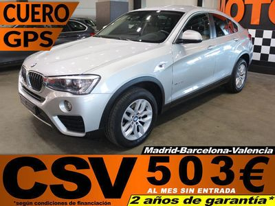 gebraucht BMW X4 xDrive20dA 140kW (190CV)