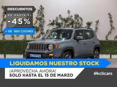 usado Jeep Renegade 1.6 Mjet 88kW (120CV) Longitude 4x2