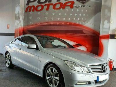 usado Mercedes E250 Clase E CoupeCDI Blue Efficiency Avantg.