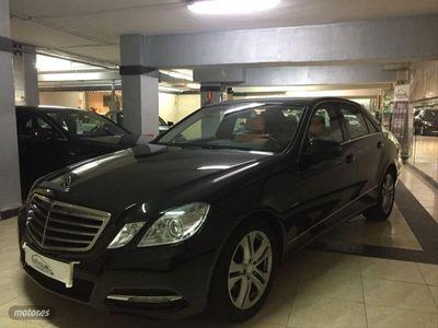 usado Mercedes E350 Clase ECDI Blue Efficiency Avantgarde