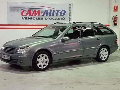 usado Mercedes C220 Familiar CDI Elegance
