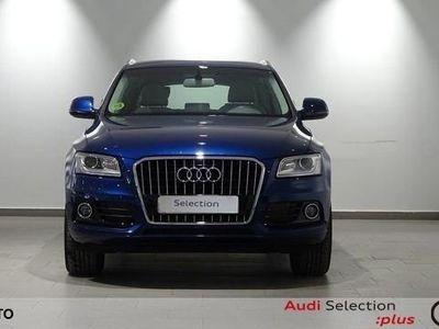 usado Audi Q5 Ambition plus 2.0 TDI quattro 130 kW (177 CV) S tronic Diésel Azul matriculado el 01/2015