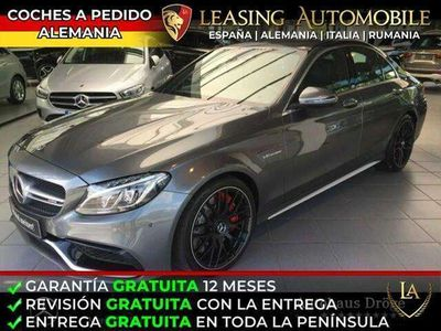usado Mercedes C63 AMG Estate AMG S (14.75) 7G Plus