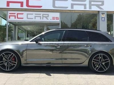 usado Audi A6 RS 6 Avant 4.0 TFSI performance Q. Tip.