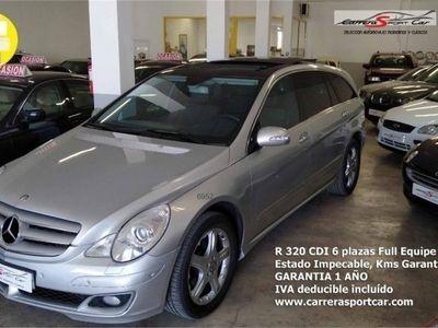 usado Mercedes R320 CDI 4M Executive Aut. TODOS LOS EXTRAS, IMPECABLE