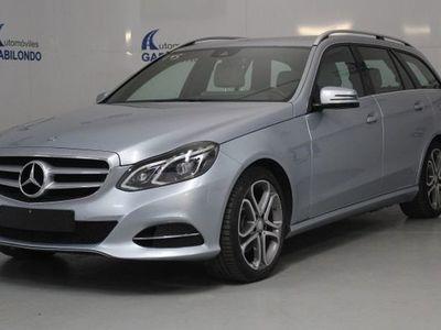 usado Mercedes 250 Clase E EstateBT Avantgarde 4M 7G Tronic