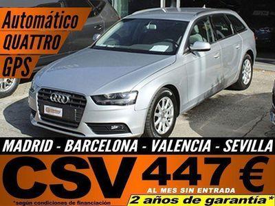 usado Audi A4 3.0TDI V6 QUATTRO S-TRONIC AVANT *410€/M*