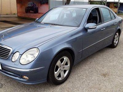 usado Mercedes E270 Clase ECDI
