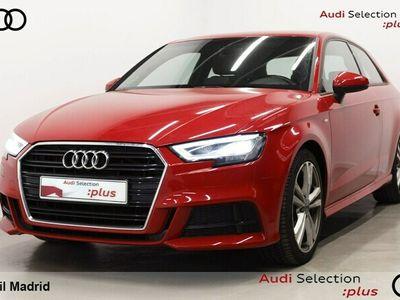 usado Audi A3 S line edition 1.6 TDI CD 81 kW (110 CV) Diésel Rojo matriculado el 06/2016