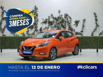 usado Nissan Micra 1.5dCi 66 kW (90 CV) S&S Acenta