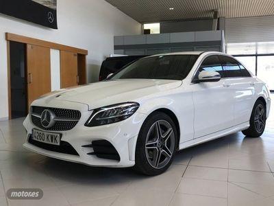 usado Mercedes C200 Clase Cd AMG Line (EURO 6d-TEMP)