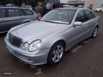 usado Mercedes E400 Clase ECDI Aut. Avantgarde 260 cv.